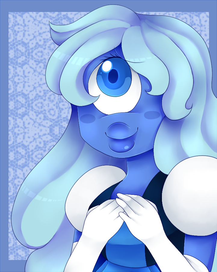 I love Sapphire so much. I love ice characters and cyclops characters. Mix the two and I'm sold. I love it when Ruby and Sapphire get screen time. They're so cute I want to squish them aaaaa- Have ...