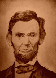 Abraham Lincoln by MegaDrawer02