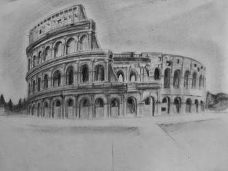 Collosseum by MegaDrawer02
