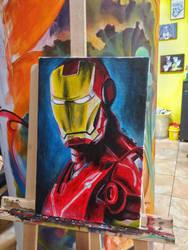 Ironman by MegaDrawer02