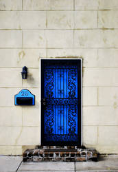 The Blue Door by NakedEmoArtist13