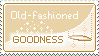 Stamp: Goodness by delusional-dreams