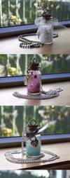 Bottle Pendants by delusional-dreams