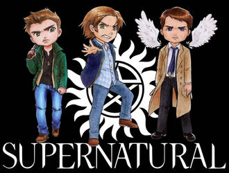 Supernatural by KaylaNostrade