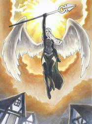 Archangel Avacyn by KaylaNostrade