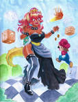 Bowsette by KaylaNostrade