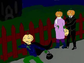 Hallowe'en 2012 by Manga-sarah