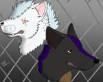 Cage mates by Transhyena