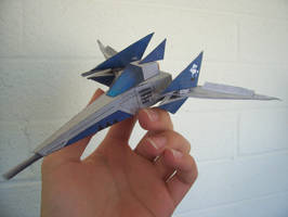 Starfox Papercraft Arwing by Spectrum-VII