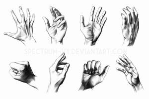 A study in hands by Spectrum-VII