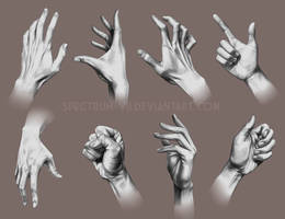 A study in hands 2 by Spectrum-VII