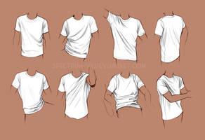 Life study-- shirts by Spectrum-VII
