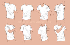 Clothing study- shirts by Spectrum-VII