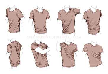 Clothing study: shirts by Spectrum-VII