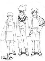 naruto oc- team fukashi by ikeda
