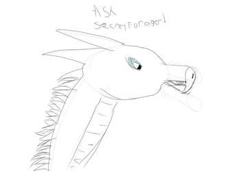 Ask SecretForager! by RavenCloudWarriorTom