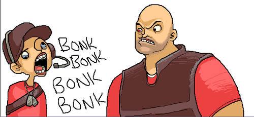 BONKBONKBONK by LVL80Catlady