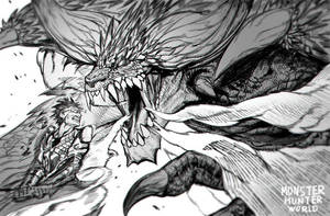monster hunter by snaleping
