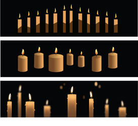 Vector Candles by uzushio