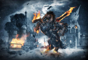 Hellgate Moscow by 4apay