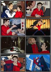 Spider-Man comic by Datjiveturkey