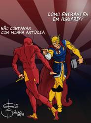 Chapolin vs THOR by GuilhermeSeixas