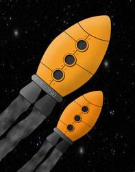 Baby Rocket by IcyCobweb