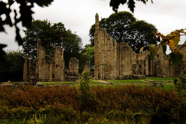 Finchale Priory by IcyCobweb