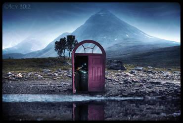 Through the Door by IcyCobweb