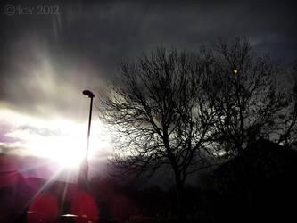 Sun Breaking Through by IcyCobweb