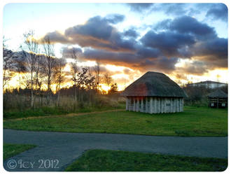 Saxon hut by IcyCobweb