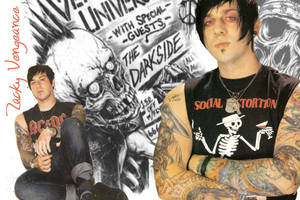 Zacky Vengeance wallpaper - by xcookie-paradex