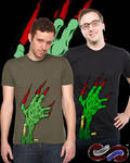 Zombie Attack Tshirt by SEspider
