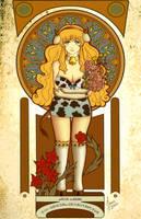 Vaquita Art Noveau by Chii-Original