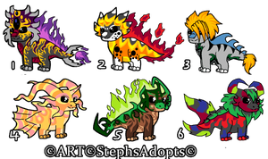 Discount Price Chibi Dragon Adopts ~closed by StephsAdopts