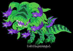 JuiceMarket chibi Dungeon Beast by StephsAdopts