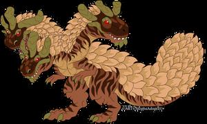 Kaporal-Kira Hydra biped Drake by StephsAdopts