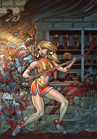 Zombies vs Cheerleaders 3 Cover A by BillMcKay