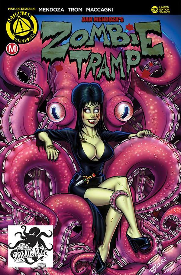 Zombie Tramp L.A Comic Con Exclusive Cover by BillMcKay