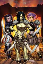 Danger Doll Squad Galactic Gladiators Regular by BillMcKay