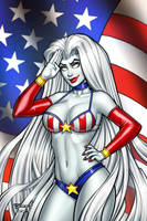 Lady Death Independence Nice Cover by BillMcKay