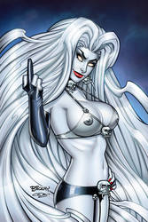 Lady Death Echoes FTW Naughty Edition Cover by BillMcKay