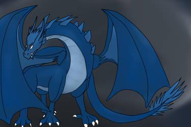 Blue-Dragon by Shinkou-san