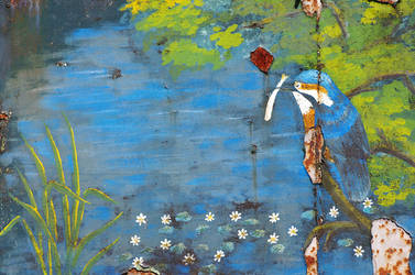 Crusty Kingfisher by Kuma-no-kimi