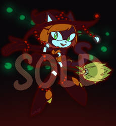 Cat girl the Witch adopt [SOLD] by Cat-Rage