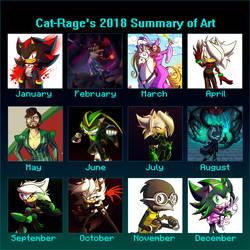 2018 Summary Of Art by Cat-Rage
