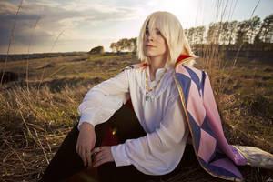 Howl's Moving Castle_Blonde wizard by SoranoSuzu