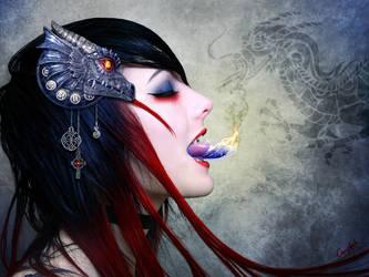 Salamandra by Emystick