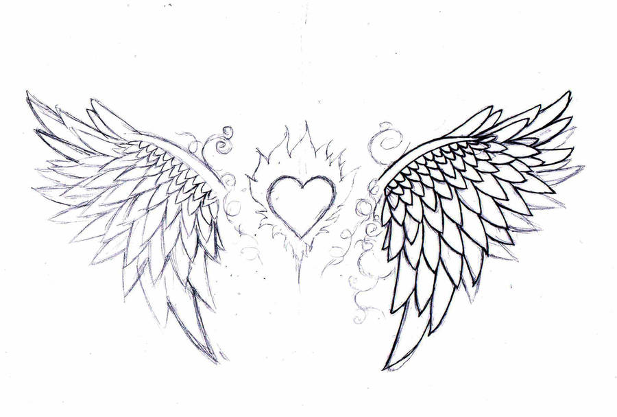 Wipangel Wings Tattoo Design By Born2art On Deviantart