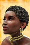 African Portrait by Kooki99